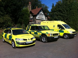 PrimeCare Ambulance Service vehicles