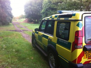 PrimeCare Ambulance Service 4x4 Vehicle