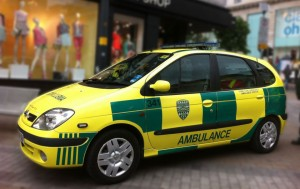PrimeCare Ambulance Service Medical Car